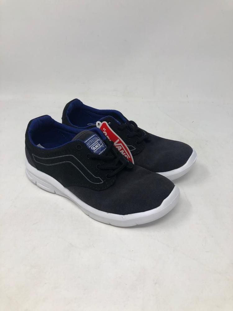 eefb3dc39869 VANS ISO POP BLACK SODA LITE BLUE SKATE SNEAKERS VN0A2XRMLS3 KIDS SIZE 12   fashion  clothing  shoes  accessories  kidsclothingshoesaccs  boysshoes  (ebay ...
