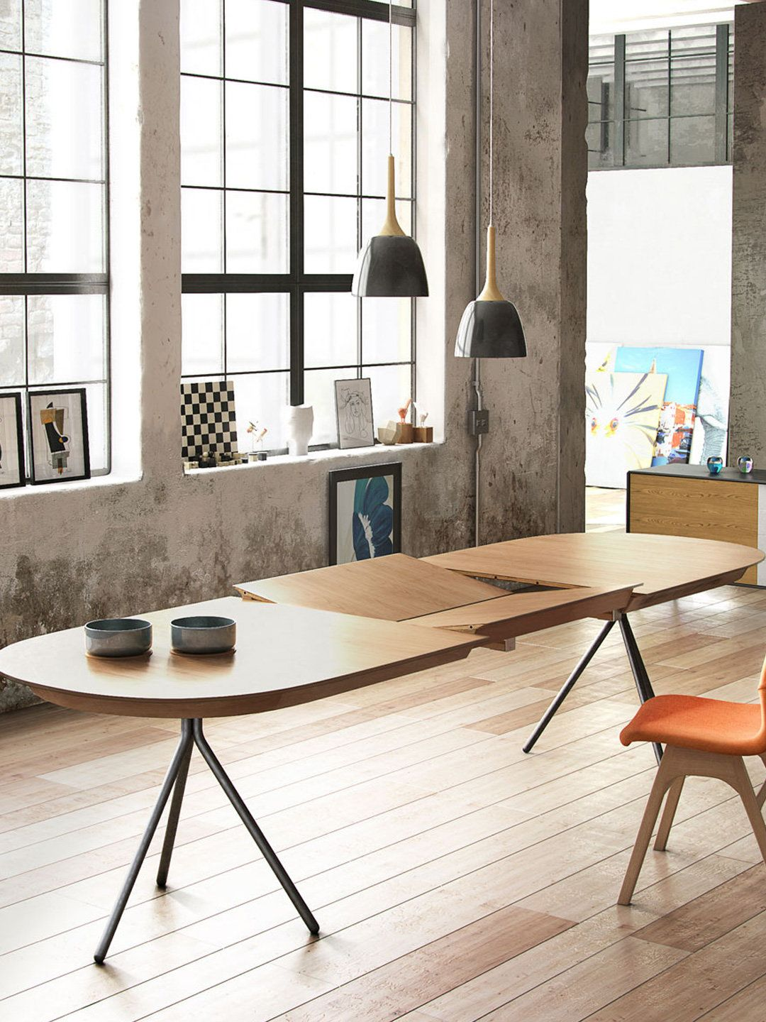 Jonas Extendable Dining Table By URBN At Gilt More