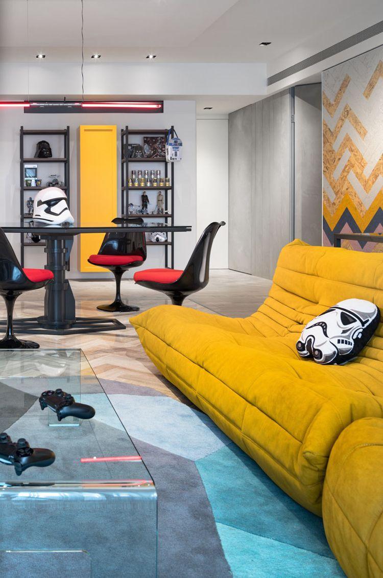 star wars comme source d 39 inspiration pour la d coration d. Black Bedroom Furniture Sets. Home Design Ideas