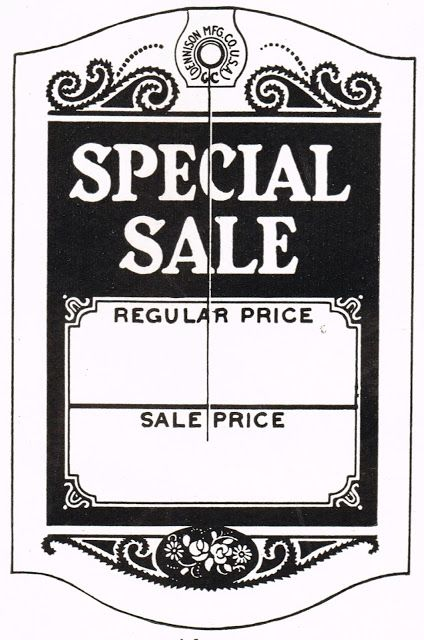 Printable Sign For Sale: Cute Printable For Yard Sale