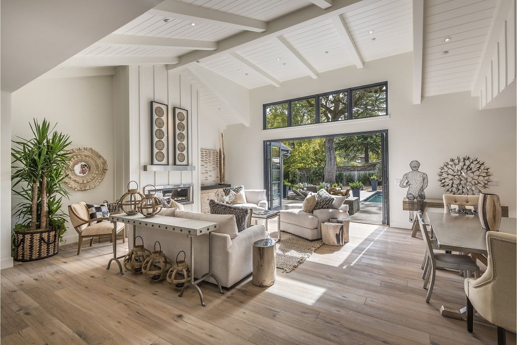 Modern Farmhouse In St. Helena Awaits First Owner