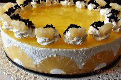Ananas-Kokos-Torte ohne Backen | Top-Rezepte.de #schnelletortenrezepte