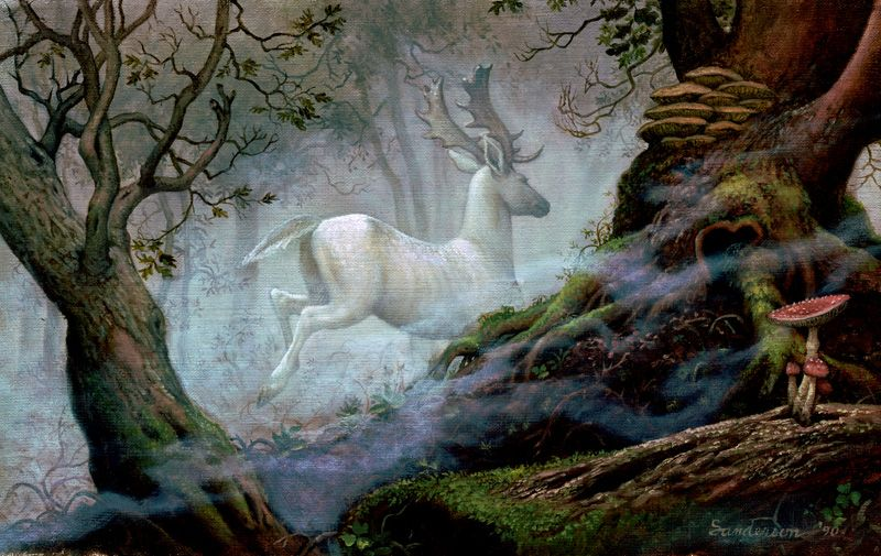 'White Stag' by Ruth Sanderson.