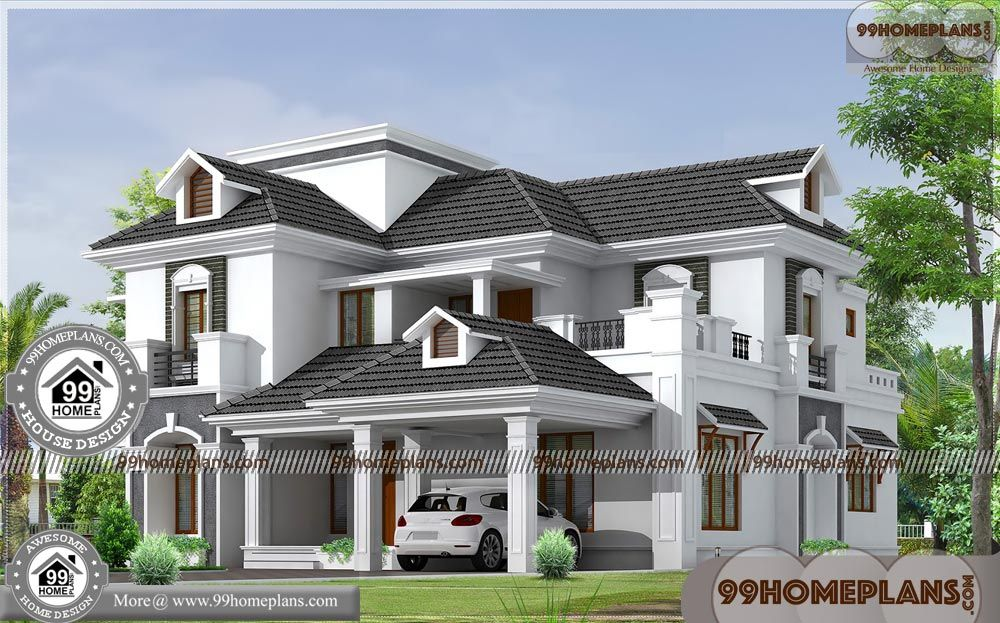 Bungalow Small House Plans with Basic Home Floor Plans