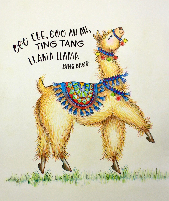 Llama Worksheet