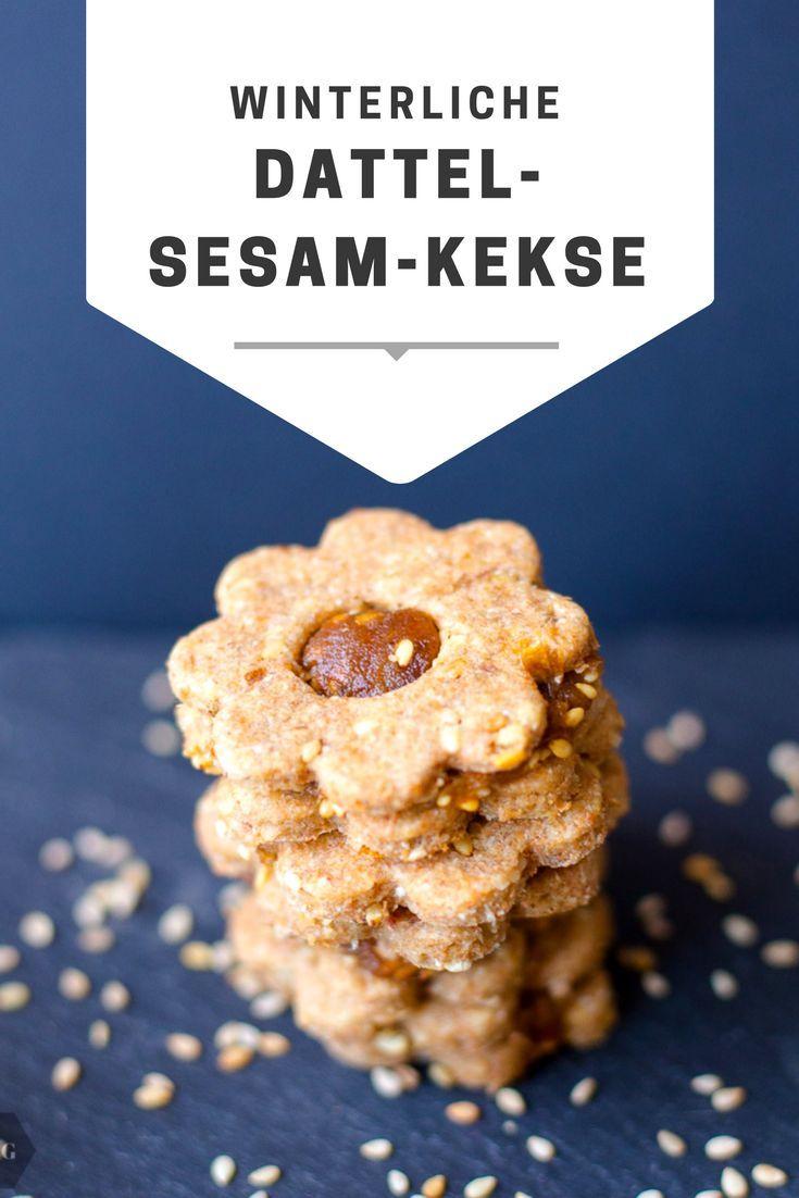 Orientalische Dattel-Sesam-Kekse | Mehr als Grünzeug #recettesympa