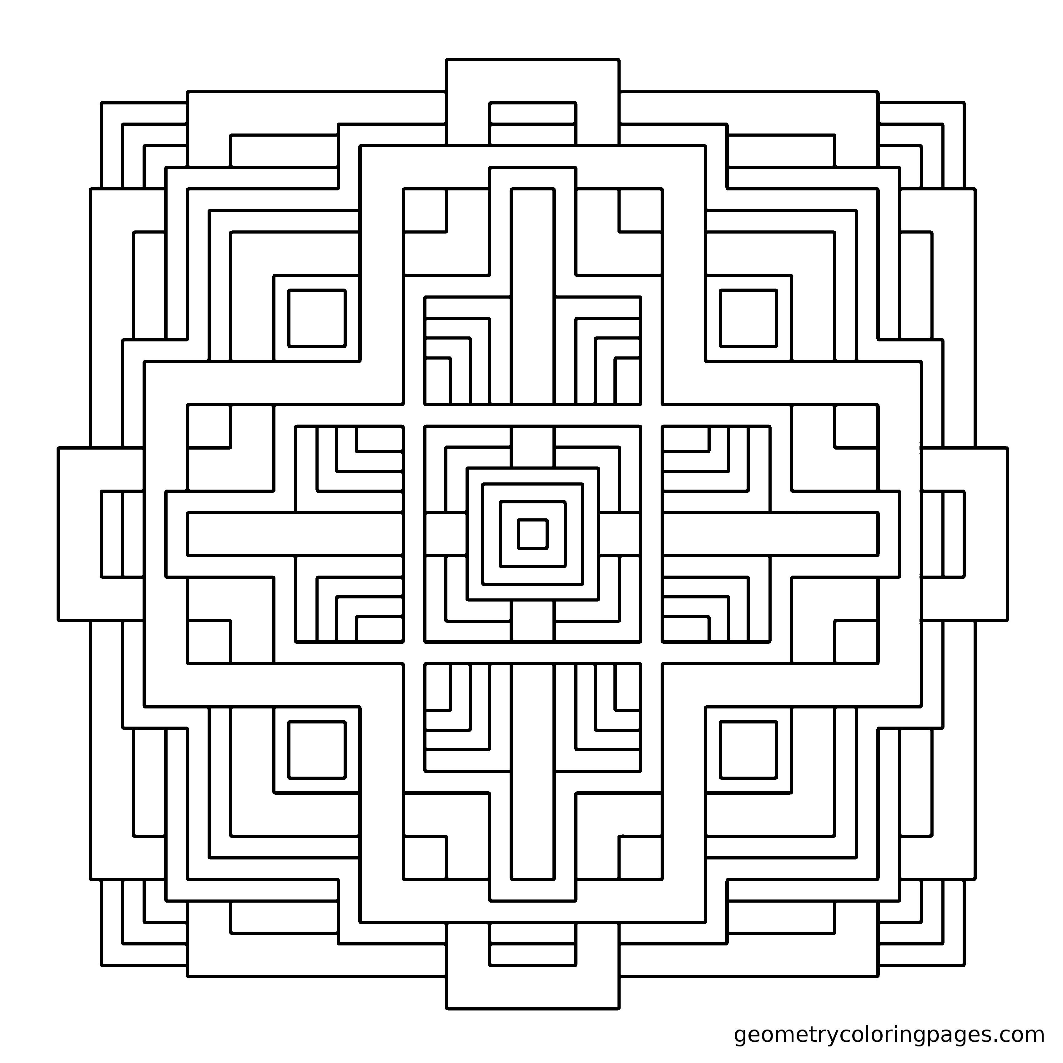 Mandala Geometrique