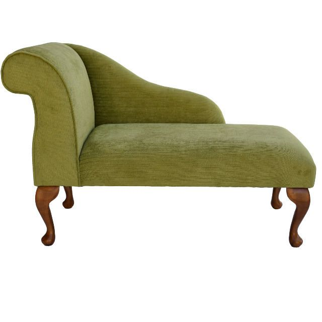 Item For Sale Is A Small Chaise Longue In A Lime Topaz Fabric An Excellent High Quality Chaise Longue Featuring Sofa Bench Seat Chaise Chaise Longue