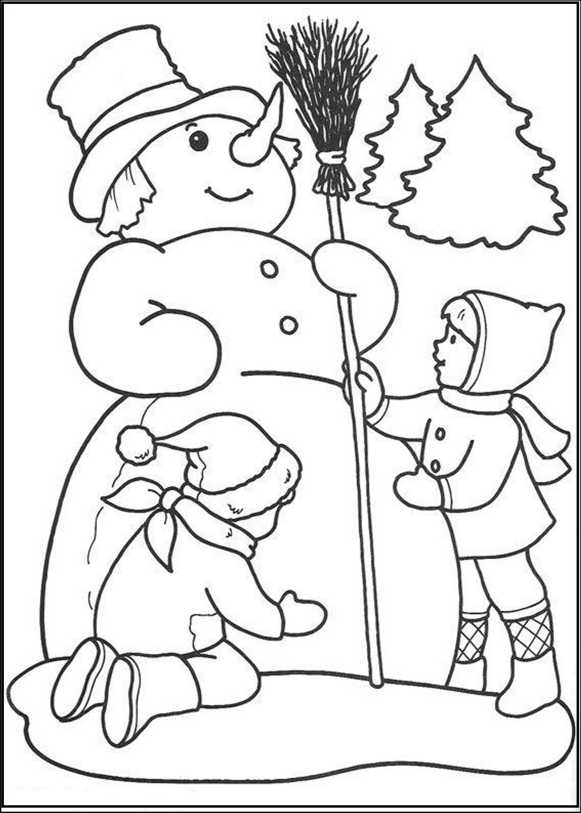 Snowman Coloring Pages Snowman Coloring Pages Dinosaur Coloring
