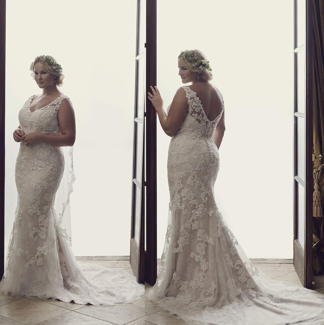 Plus size summer wedding dresses  Plus Size Wedding Dresses  Court Train Summer Wedding Gowns