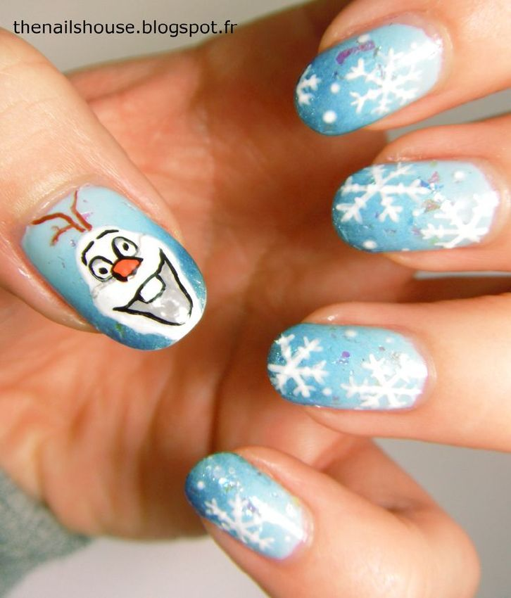 Nail Art Frozen Image collections - simple nail design ideas for ...