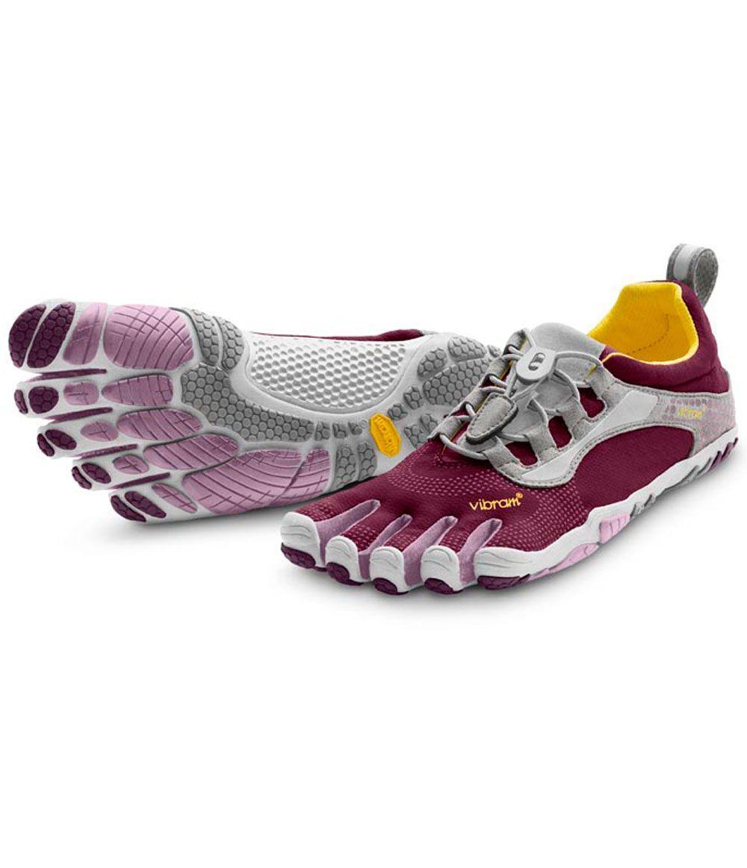 online retailer 6fb0b e817f Vibram Five Fingers Bikila LS Purple Grey - Women s