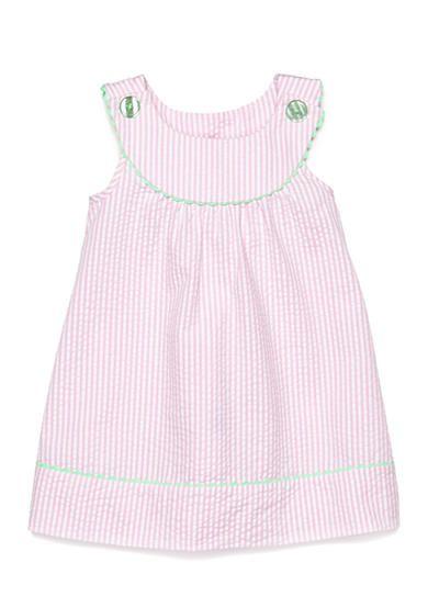 Nursery Rhyme Play 2 Piece Seerer Dress And Bloomers Set