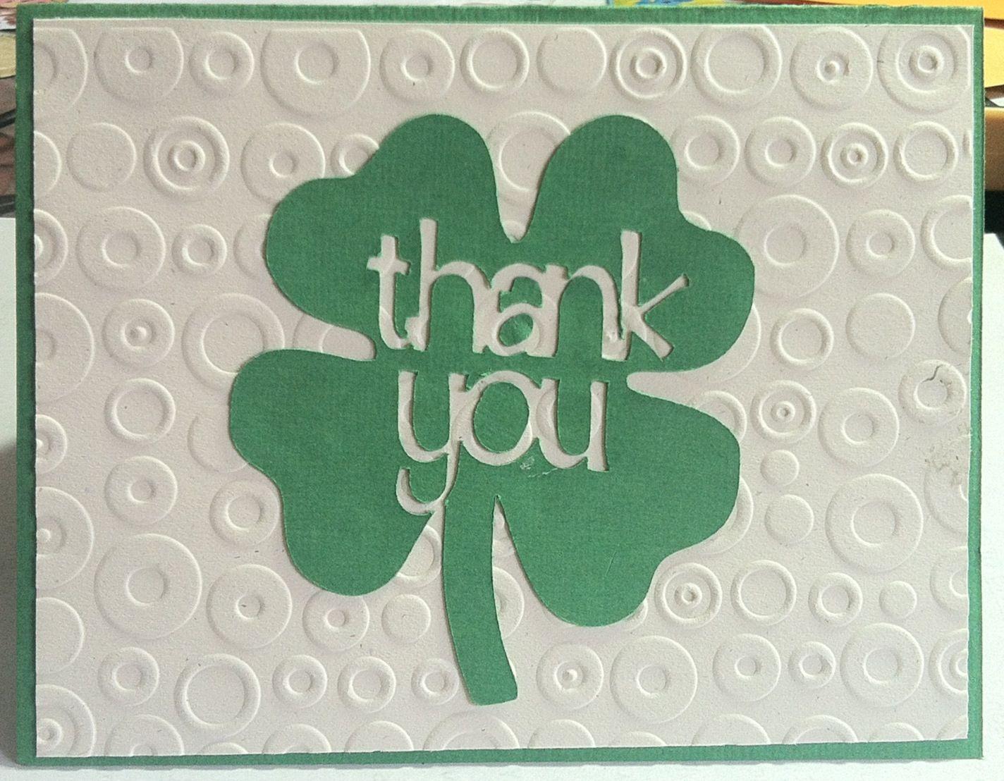 4 H Thank You Cardmaking Scrapbook Club 4 H