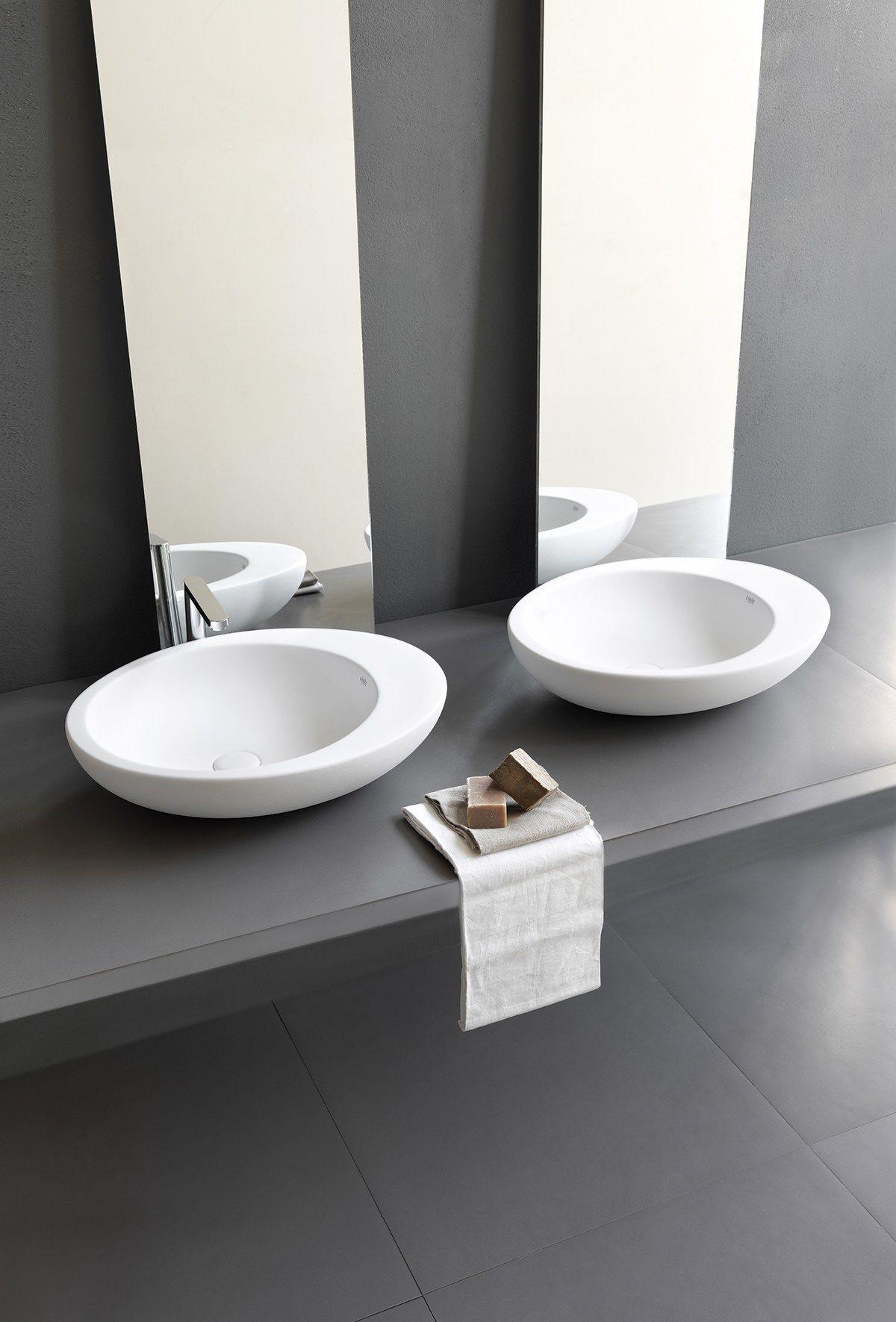 Ceramica Cielo Le Giare Prezzi.Lavabo In Ceramica Lavabo Da Appoggio Collezione Le Giare By