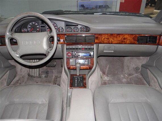 1991 Audi V8 Quattro Audi Interior Audi Cars Audi 100