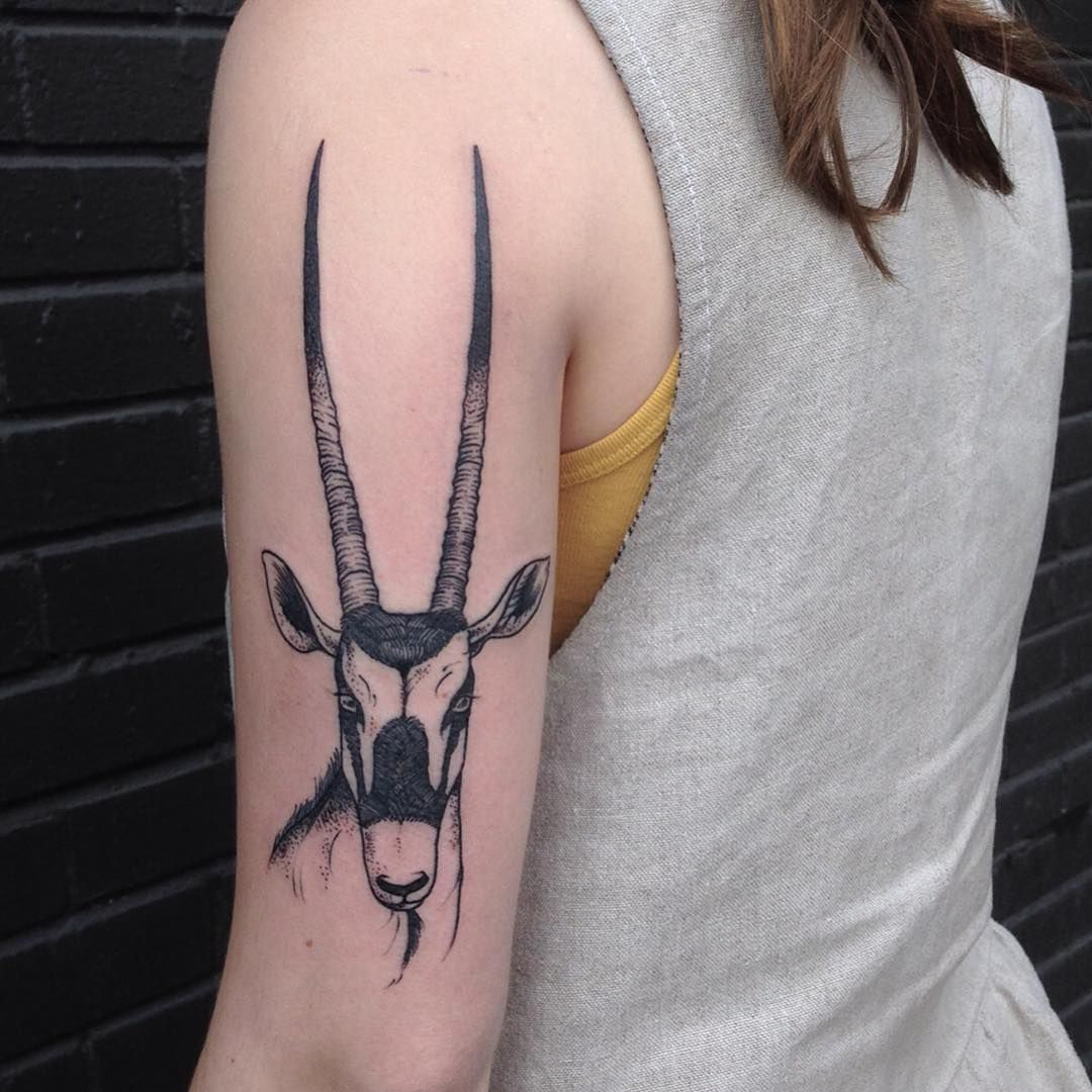 oryx by evan davis at banshee tattoo in nashville tn evandavistattoo on instagram tattoos. Black Bedroom Furniture Sets. Home Design Ideas