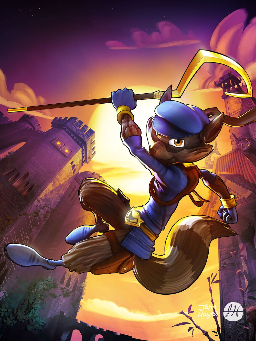 Main Render Of Sly Cooper From Thieves In Time By John Hayes In 2021 Sly Sly Cooper Art Pokemon Mix