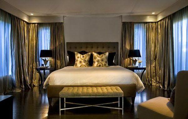 Luxury Bedroom Ceiling Lights Golden Mansion Bedroom With Ceiling Spotlights Cozy Master Bedroom Luxurious Bedrooms Country Master Bedroom