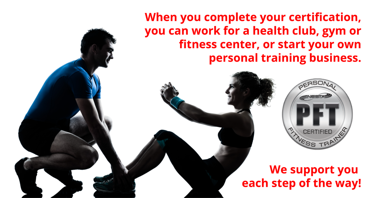 Personal Trainer Certification Health And Fitness Pinterest