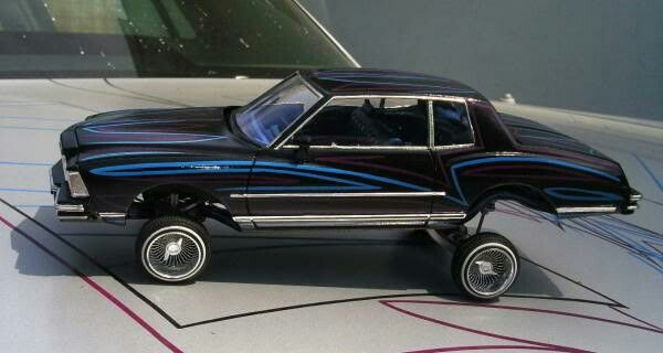 Monte Carlo Model Car Plastic Model Kits Cars Lowrider Model