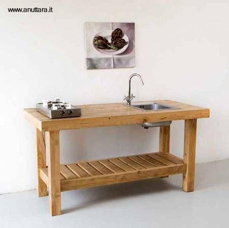 muebles de cocina con madera recuperada | Home Deco | Pinterest