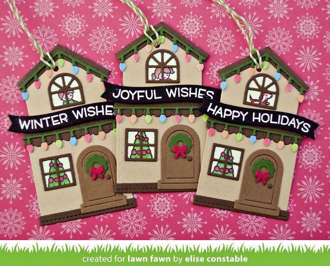 Intro Winter Wavy Sayings Tiny Gift Box Holiday Hats AddOn Intro Winter Wavy Sayings Tiny Gift Box Holiday Hats AddOn