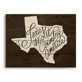 Found it at Wayfair - Texas The Best Country In America Textual Art Plaque