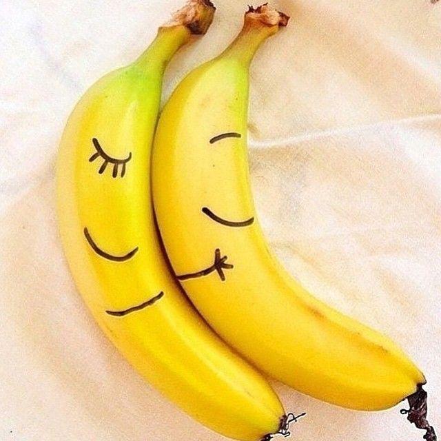 Открытки, картинки прикольные с бананами