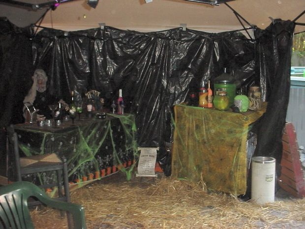 Our 2010 Haunted House With Ideas From Haunted houses and - halloween haunted house ideas