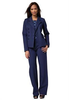 7e3087cb1ea Plus Size Double Breasted Blazer | Yay-K47 Refs | Plus size pants ...