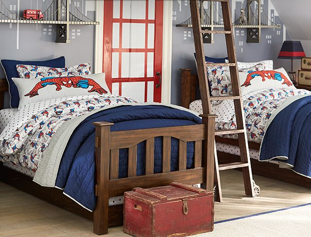 I am in love with this! Ayden's future room♥  From http://www.potterybarnkids.com/