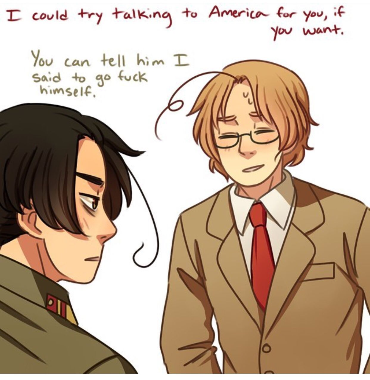 North Korea and Canada | Hetalia | Hetalia, Hetalia korea, Anime