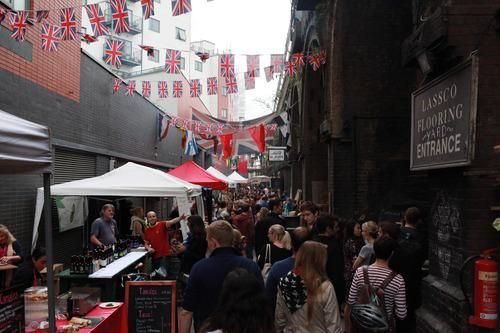 #Foodie heaven in #London? It does exist - Check out London's hottest food market at Maltby Street!