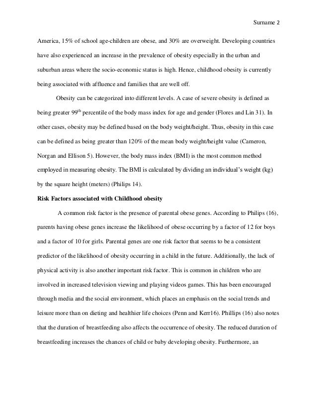 Research paper on childhood obesity in america. Free essay on ...