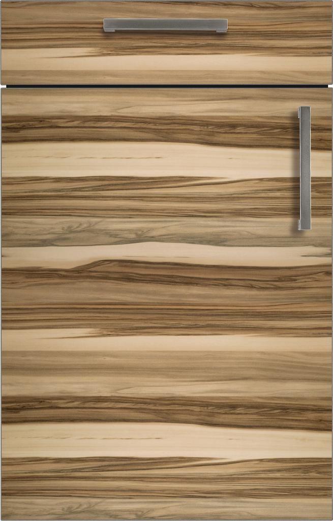 bahamas 165 baltimore walnut horizontal bauformat modern kitchen cabinets