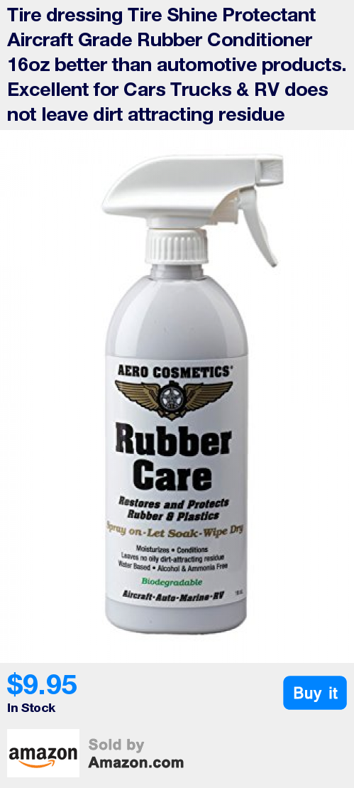 Aircraft grade Tire dressing, Tire shine, Rubber