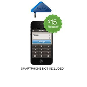 PayPal Here Card Reader - For iPad, iPhone, Android. - Free* After $15 Rebate   eSalesInfo.com