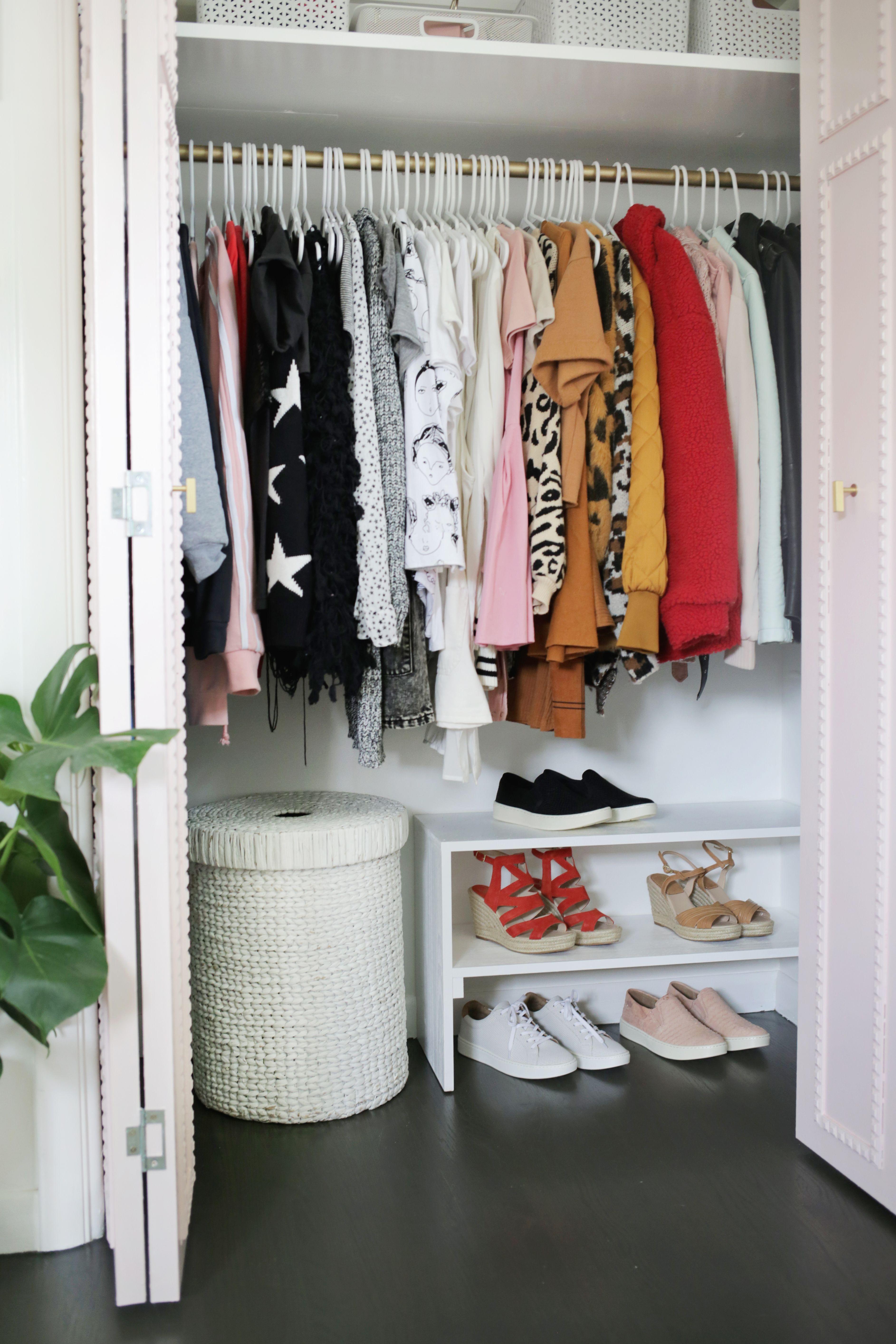 Easy Built-In Closet DIY  Diy closet, Open closet, Closet bedroom