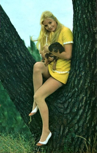 psychedelicway: Candy - Photo of Ewa Aulin (1968
