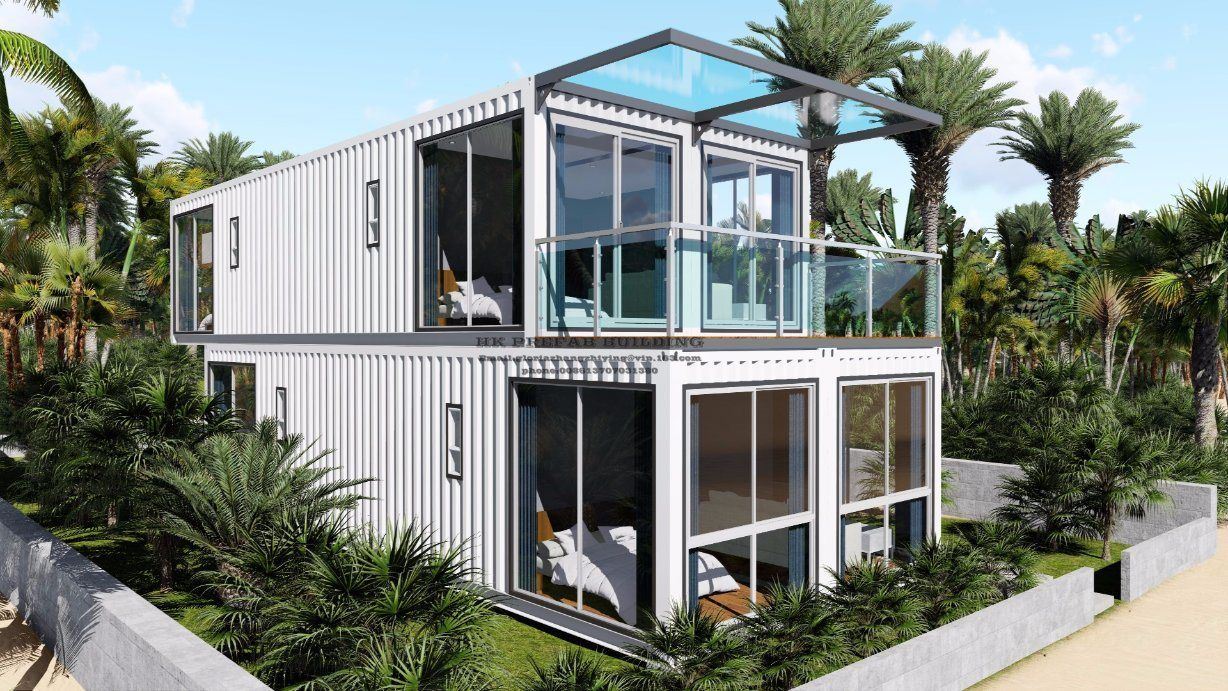 Neazealand Standard Luxury Modular Prefabricated Container