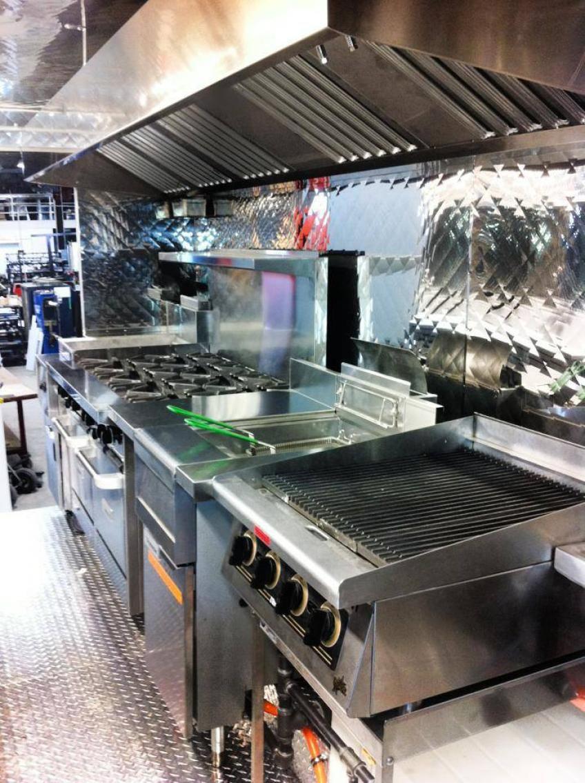 Perfect Food · Food Truck Interior   Kitchen