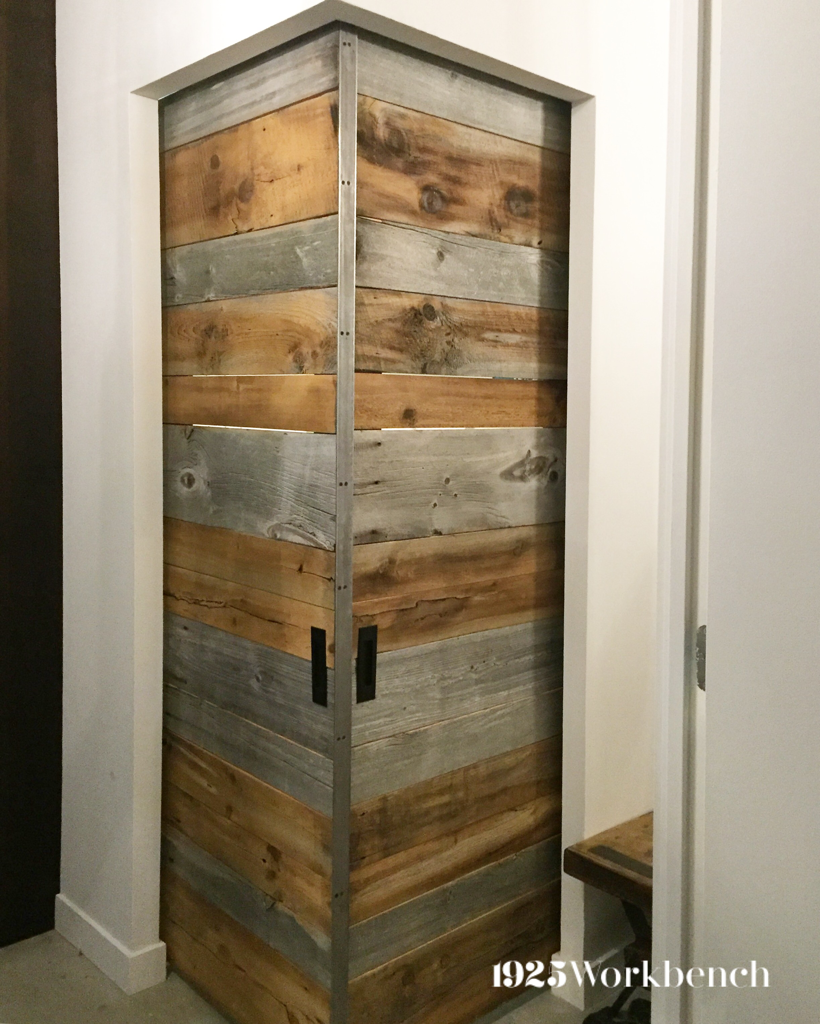 We Made These Two Doors Out Of Barn Board To Closed Off A