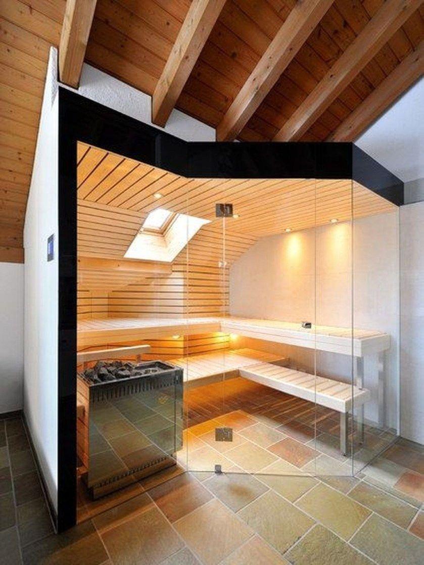 44 Awesome Home Sauna Design Ideas And Be Healthy Diseno De