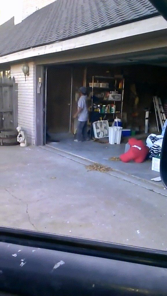 Garage Door Hop Funny Lol Comedy Fun Humor Funny Funny