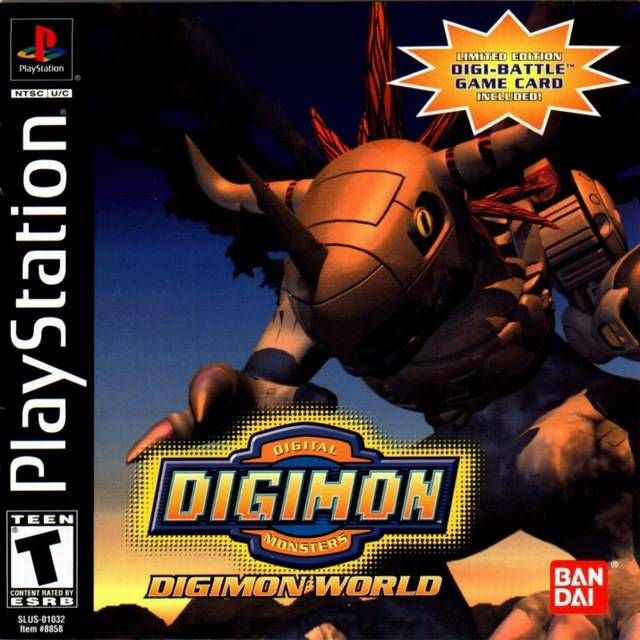 Digimon World 1 Psx Iso Rom Download