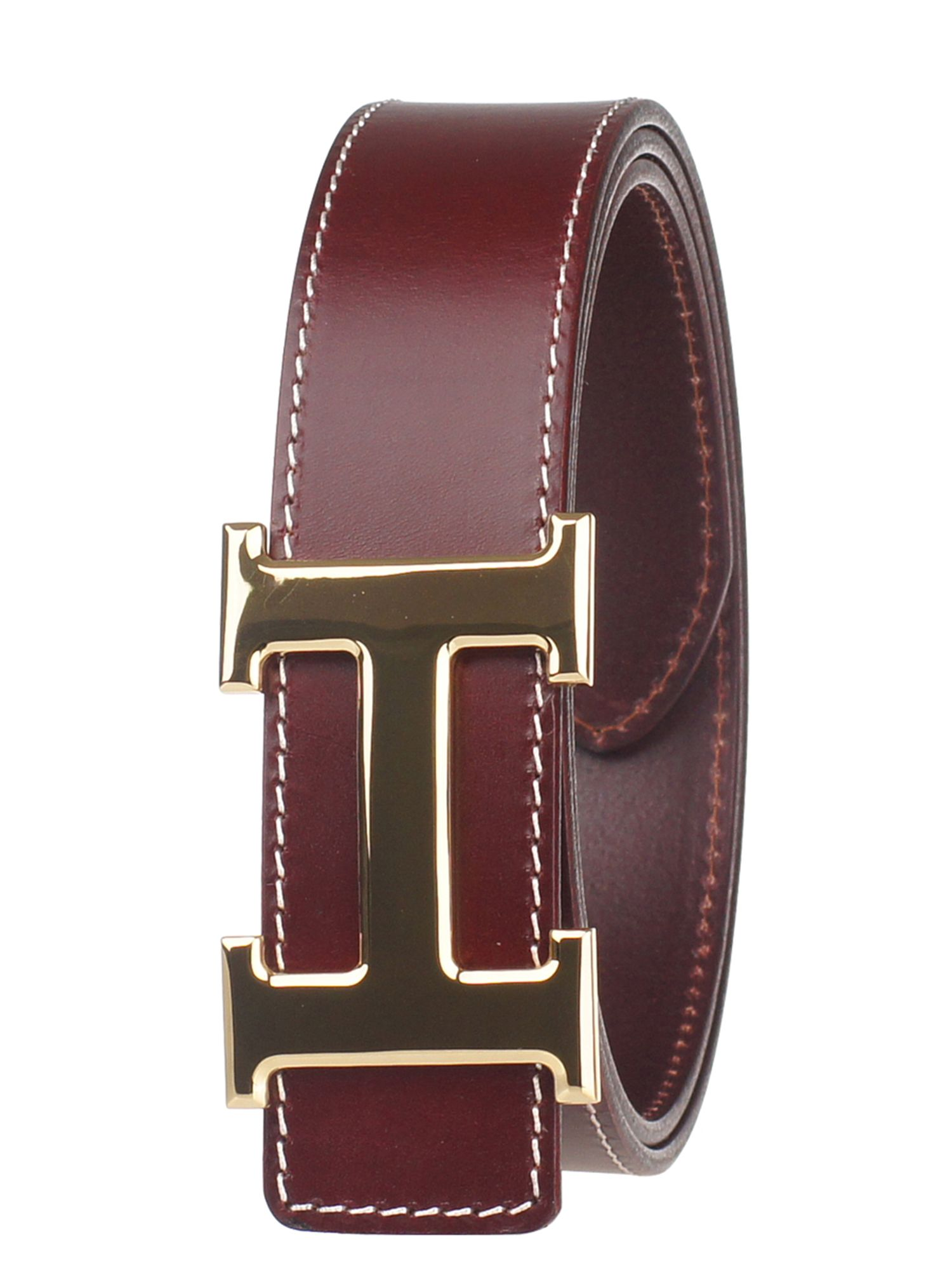 The world of brand's leather belts. Top brands in the