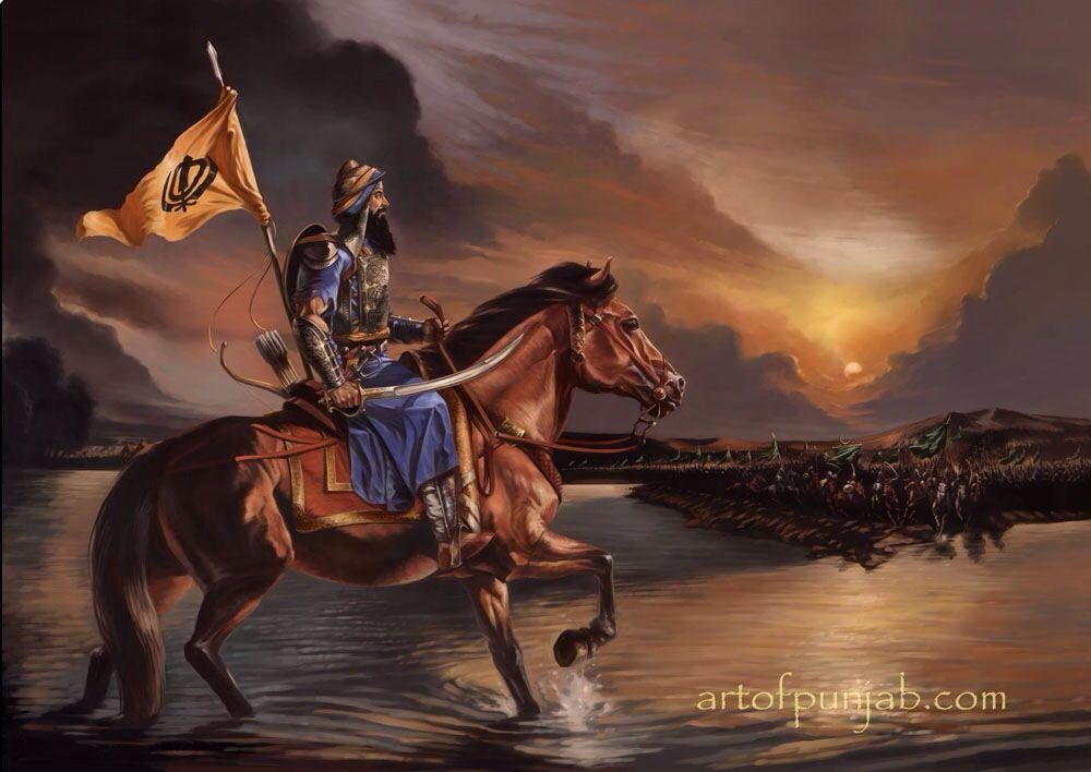 Sikh Warrior | Sikhpoint.com | Sikh Warriors | Pinterest