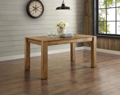 Better Homes Gardens Bryant Dining Table Rustic Wood Dining