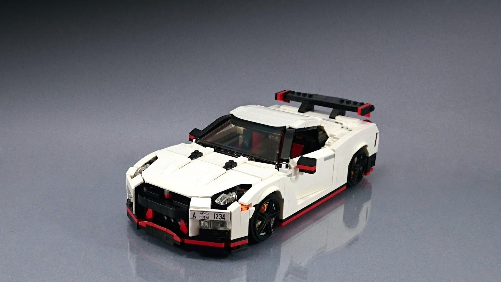 Nissan Gt R Nismo Fan Creates His Own Lego Masterpiece Carscoops Lego Cars Lego Lego Wheels